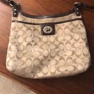 Coach crossover purse.